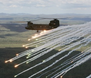 Chinook electronic warfare self protection trial